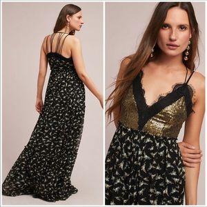 NWT Anthropologie Ranna Gill Maxi Dress